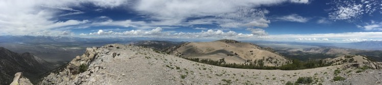 180 degree from Glass Mt