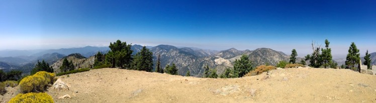 Looking west-ish from Mt Islip peak