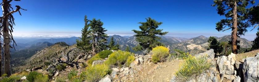 Looking north-ish from Mt Islip peak