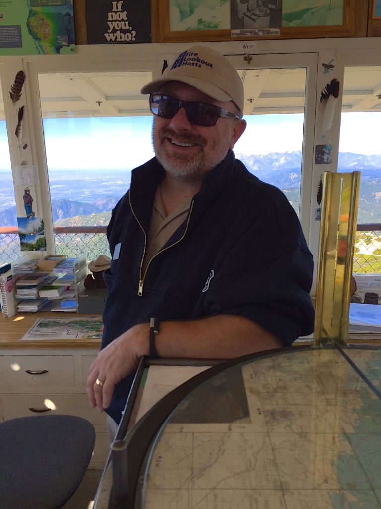 Duane - Volunteer fire lookout