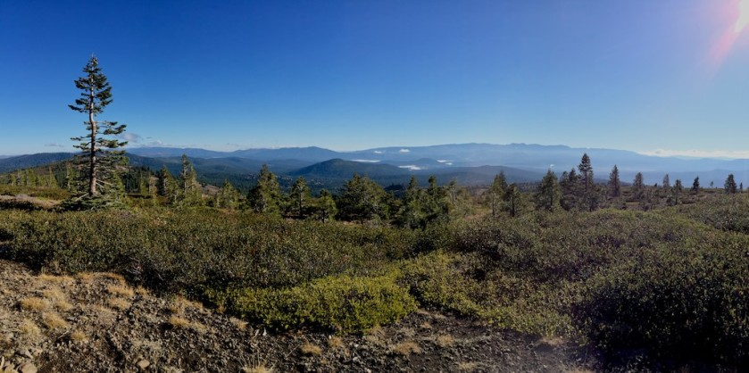 Looking east toward Lake Tahoe